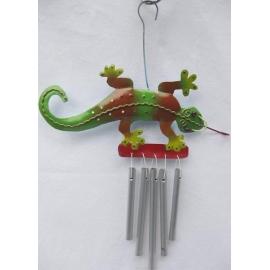 Campana a vento pendaglio geco - Vari colori