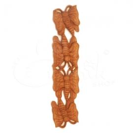Appendibile greca con bassorilievo farfalle -lunghezza 70cm