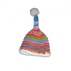 Cappello di lana multicolor Pisolo