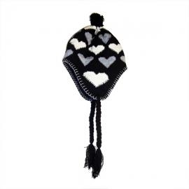 Cappello peruviano con cuoricini - Vari colori