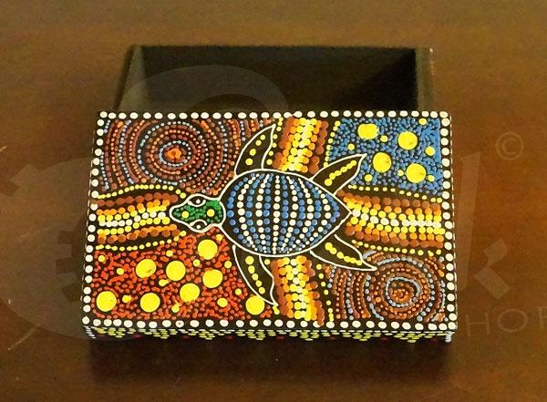 Scatola porta oggetti in legno tartaruga piccola - Scatola porta orecchini ...
