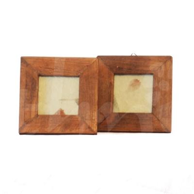 Cornice quadrata in legno 12x12 cornici album foto e for Cornice foto legno