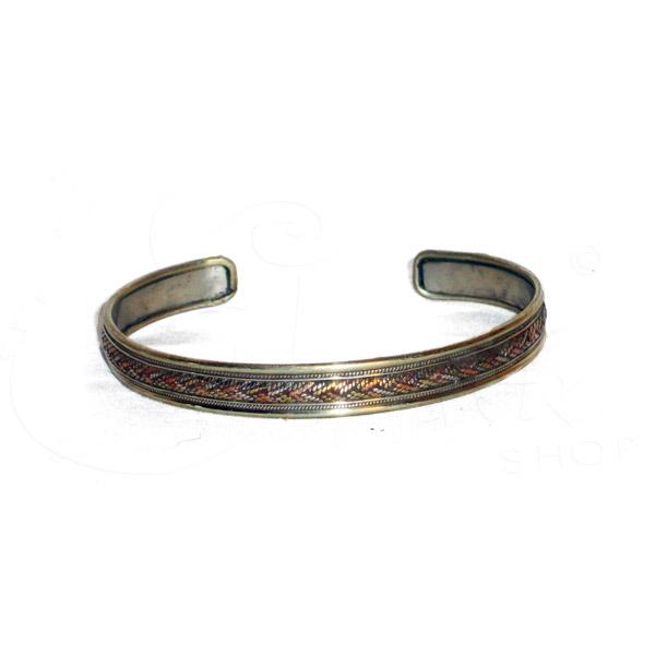 1b0713b86366ab Bracciale rigido in metallo a treccia. Bracciale rigido in metallo a treccia.  Categoria: BRACCIALI E CAVIGLIERE