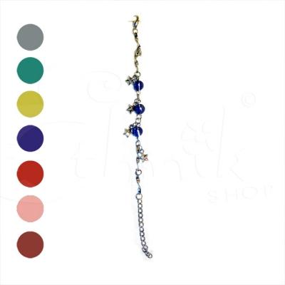 Cavigliera con stelline - Vari colori