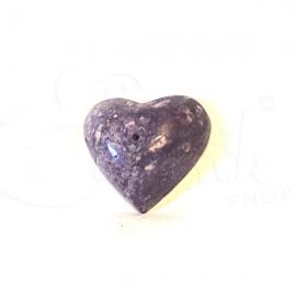 Porta incenso a cuore in marmo colorato
