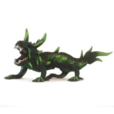 Statuetta drago in legno - 30cm