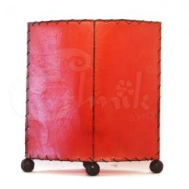 Lampada red velvet eye - 20cm