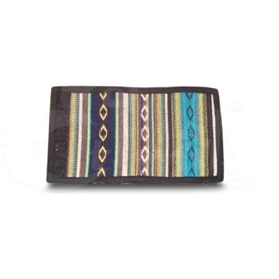 Portafoglio in cotone a righe - Vari colori