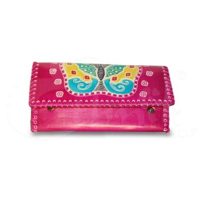 Portafoglio in ecopelle farfalla - Vari colori