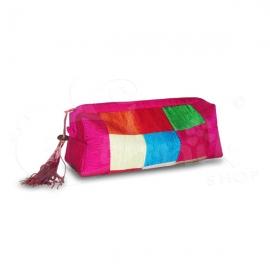 Trousse porta oggetti seta - Vari colori