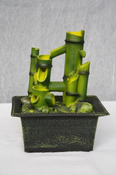 Fontana zen bambu verde fontane e giardini zen novita for Fontana zen