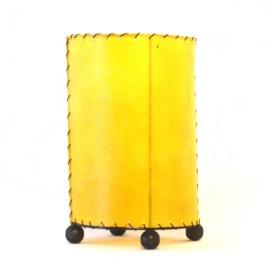 Lampada Skin gialla rettangolare - altezza 20cm
