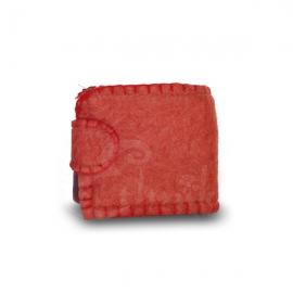 Portafoglio porta monete lana cotta - Vari colori