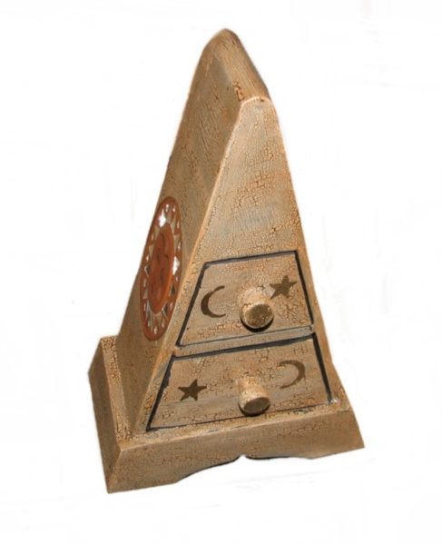 Mobiletto mini cassettiera legno pyamid soleluna 30cm - Mobiletti in legno ...