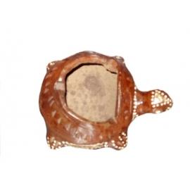 Posacenere in terracotta dipinto Tartaruga
