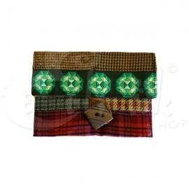 Porta tabacco bustina trousse pochette fatta a mano Tartan