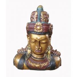 Statua busto di Shiva - altezza 30cm - pezzo unico!