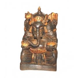 Statuetta ganesha anticato - altezza 18cm