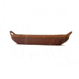 Svuota tasche in legno e corda - medio - 67cm